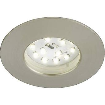 Briloner 7231--012 LED recessed light 5.5 W Warm white Nickel (matt)