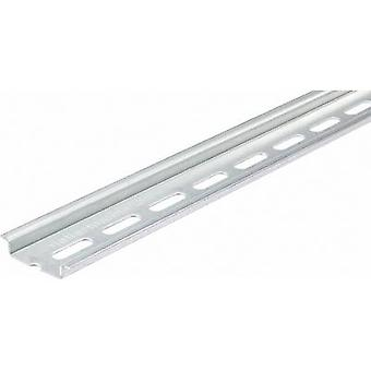 HellermannTyton DELTA-3F/BV DIN rail perforated Steel plate 2000 mm 1 pc(s)