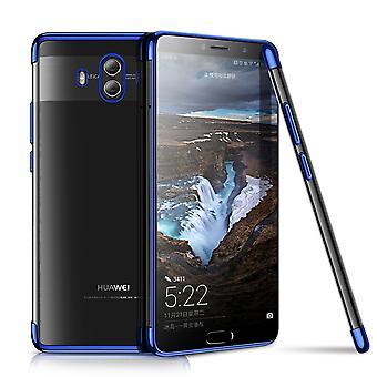 Handy Hülle Schutz Case für Huawei Mate 10 Durchsichtig Transparent Blau