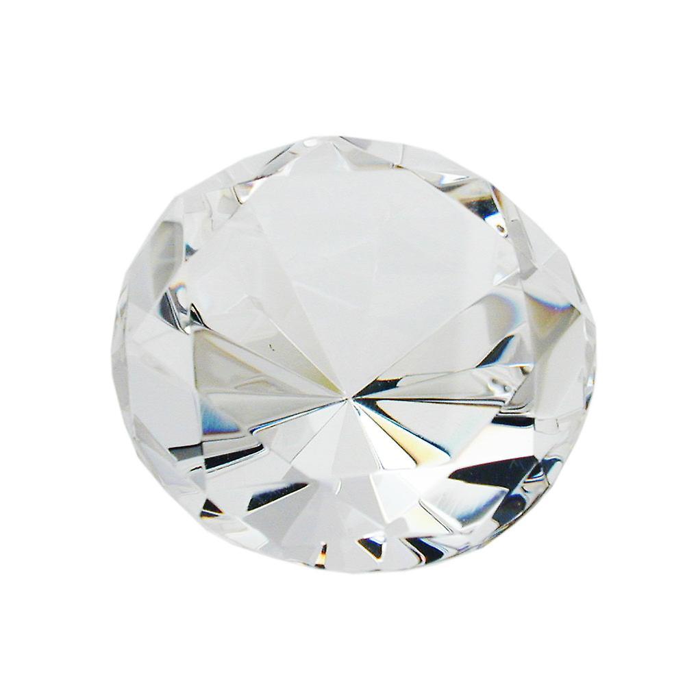 Glasstein, Form Diahommet, kristall klar