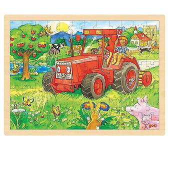 96st Traktor, Puzzle.
