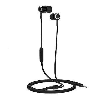 LANGSDOM R30 3.5 mm Bass Stereo Headphones-Black