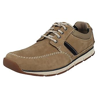 Mens Clarks Casual Lace Up Shoes Beachmont Edge