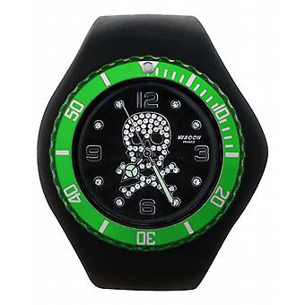 Waooh - Watch ISOLA Death Of Black Dial & Bezel Head Transparent