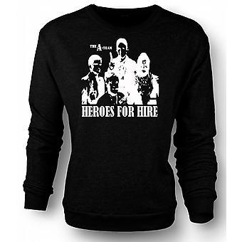 Sweatshirt A Team Heroes - Retro - Movie 0s - Tv
