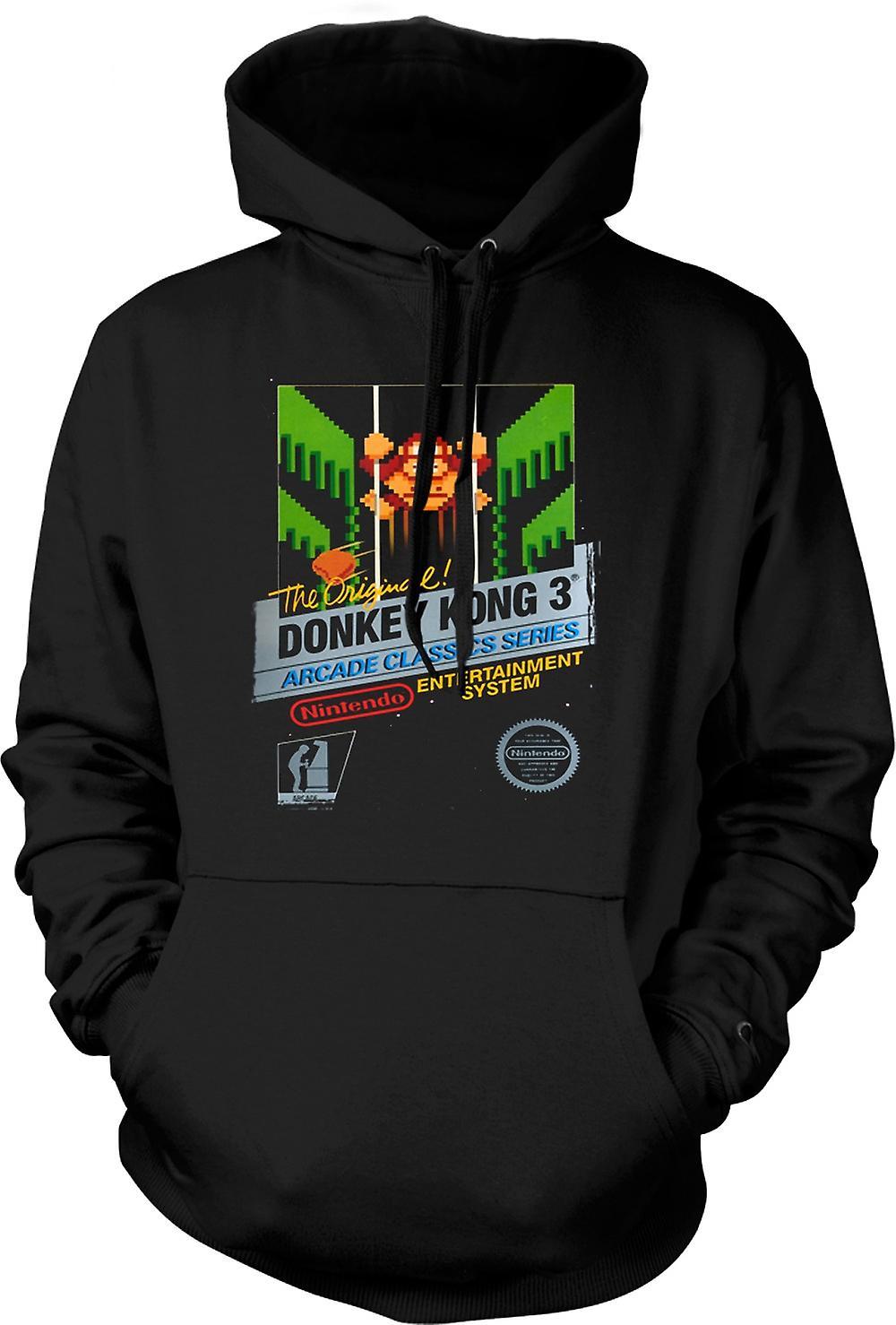 Para hombre con capucha - Nintendo - Donkey Kong 3 Gamer