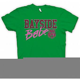 Mens t-skjorte - Bayside Babe - Bayside Tigers - Funny