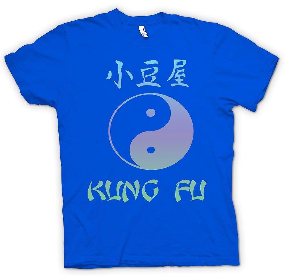 Heren T-shirt - Kung Fu - Ying Yang