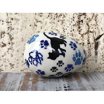 Easter eggs, approx. 5.5 cm high, cat, BSN A-0098