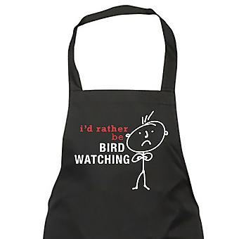 Mænds jeg vil hellere være fugl ser forklæde