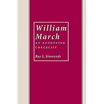 William March: Annotated Checklist