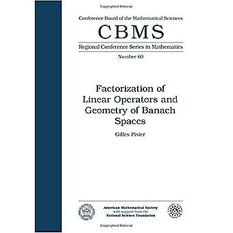 Factorization of Linear Operators and Geometry of Banach Spaces