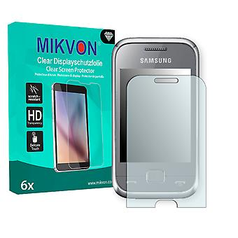 Samsung C3310R Rex 60 Screen Protector - Mikvon Clear (Retail Package with accessories)