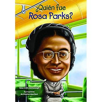 Quien Fue Rosa Parks? (Quien Fue? / Who Was?)