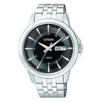 Citizen analog watch with quartz movement stainless steel BF2011 _ 51EE