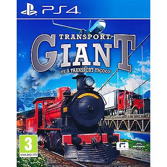 Transport Giant Be a Transport Tycoon - Playstation 4
