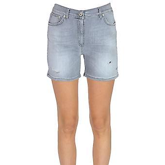 Dondup Grey Cotton Shorts
