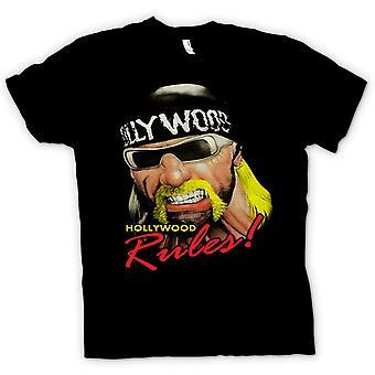 Mens T-shirt - Hulk Hogan - Hollywood Rules