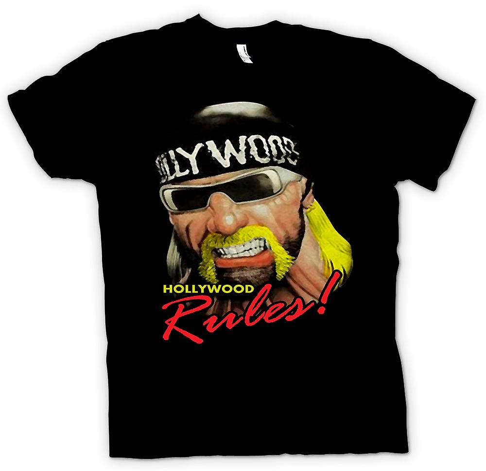 Womens T-shirt - Hulk Hogan - Hollywood regels