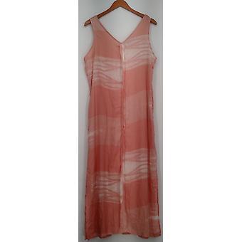 ARAE jurk Phoenix Fashion week Maxi gedrukt licht roze Womens A425248