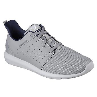 Skechers Mens Foreflex Lace Up Trainer
