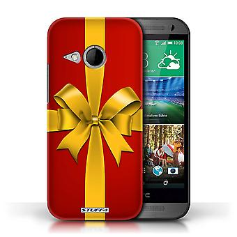 STUFF4 Case/Cover voor HTC One/1 Mini 2/Gift/heden/Kerst decoraties