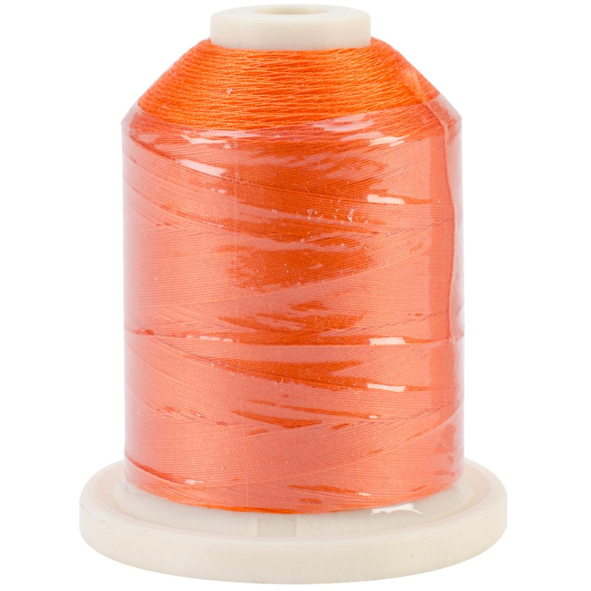 Cotton Solid Colors 700 Yards Tangerine 40 Sn309