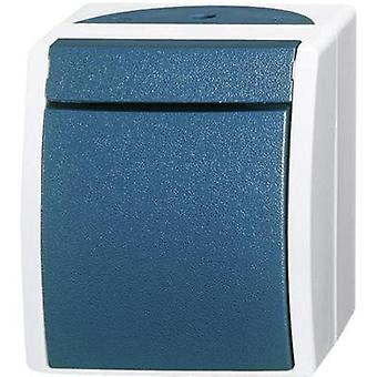 Busch-Jaeger Cross-switch Ocean (surface-mount) Blue-green 2601/7 W-53