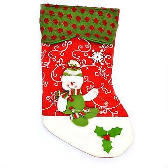 Shatchi Designer Christmas Stocking-Xmas sokken decoraties