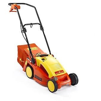 Outils Wolf Electric Push Mower 34 Cm, 230V - 1,2Kw, Dustpan 35 L Mulching Function