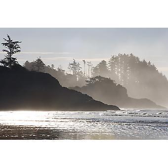 Chestermans Strand Tofino Vancouver Island British Columbia Kanada PosterPrint