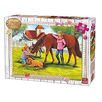 King puzzel 100 st. mother en foal 05297