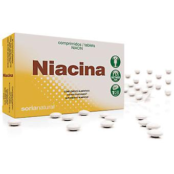 Soria Natural Niacin (B3) * Retard 200mg Tablets 48