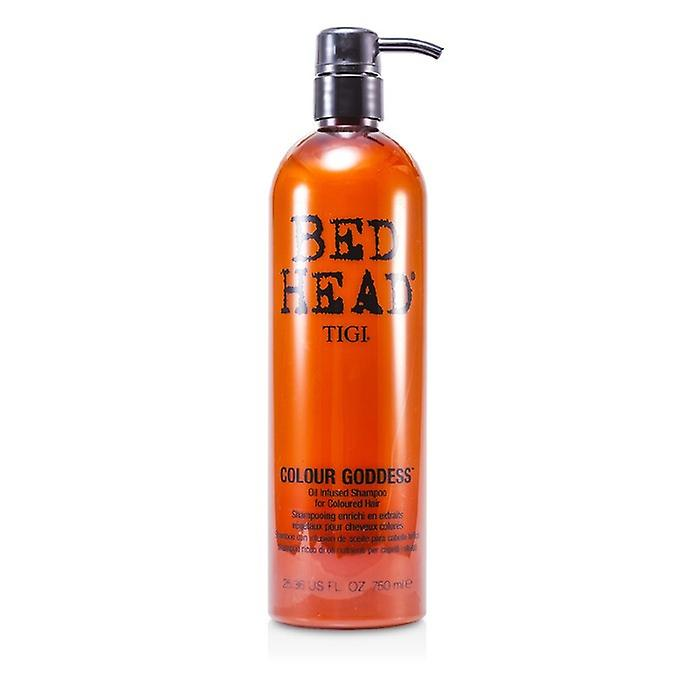 TIGI Bed Head color diosa aceite infusionado champú (para cabello coloreado) 750ml / oz 25,36