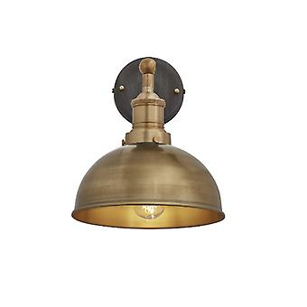 Brooklyn Vintage antik Sconce væg lampe - Dome - messing - 8