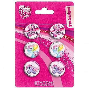 Offiziell lizenzierte | MY LITTLE PONY | 6 PIN BADGE PACK