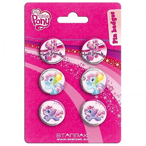 Officially Licensed | MY LITTLE PONY | 6 PIN BADGE PACK