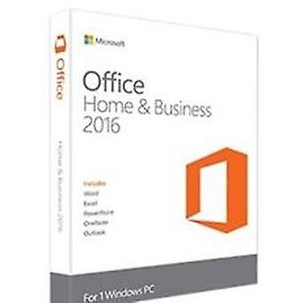 Microsoft Office 2016 home and business case