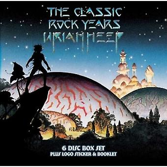 The Classic Rock Years (3CD and 3 DVD set) by Uriah Heep