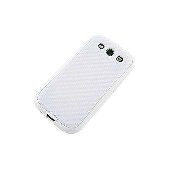 Technocel Hybrigel Case Cover til Samsung Galaxy S III (hvid) - SAL710HGW-Z