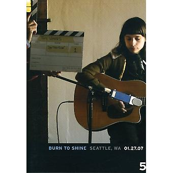 Vol. 5-brænder til skinne: Seattle Wa [DVD] USA import