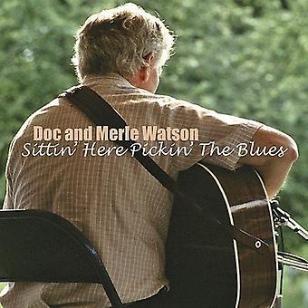 Watson/Saunders - sittandes här Pickin' [CD] USA import