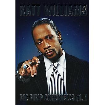Katt Williams - Pimp Chronicles Pt. 1 [DVD] USA import