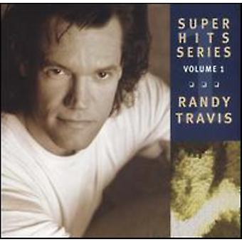 Randy Travis - Randy Travis: Vol. 1-Super Hits [CD] USA import