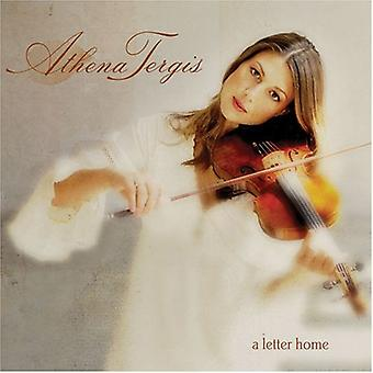 Athena Tergis - Letter Home [CD] USA import