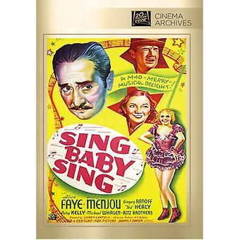 Sing Baby Sing [DVD] USA import