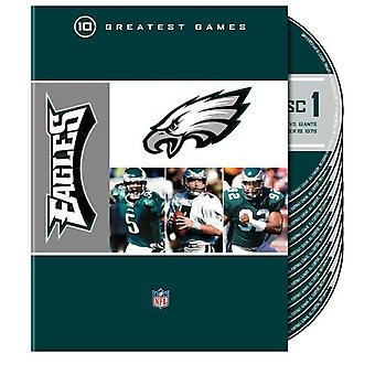NFL Philadelphia Eagles 10 største spil [DVD] USA importerer
