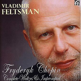 F. Chopin - Chopin : Valses & Impromptus complet [CD] USA import