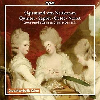 Sigismund Von Neukomm - Sigismund Von Neukomm: Quinteto; Septeto; Octeto; Importación de USA de Nonet [CD]