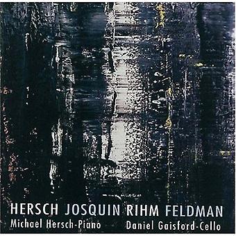 Michael Hersch - Hersch, Johan, Rihm, Feldman [CD] USA importerer